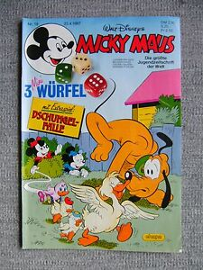 Micky-Maus-Hefte-Nr-18-Jahrg-1987-Comics-Walt-Disney