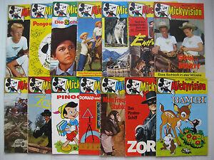 Mickyvision-Jahrgang-1962-63-Nr-1-14-komplett-Zustand-2-3