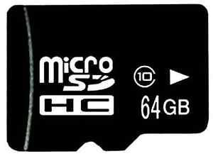 Micro-SD-64GB-Speicherkarte-SDHC-Class-10-schnelle-Memory-Card-Adapter-NEU