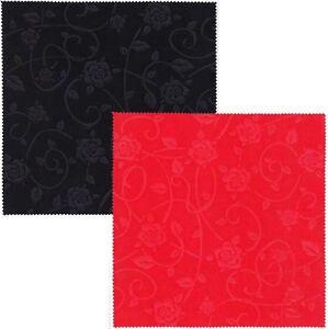 microfasertuch rosen gepr gt 20x20cm brillenreinigung brille putzen neu ebay. Black Bedroom Furniture Sets. Home Design Ideas