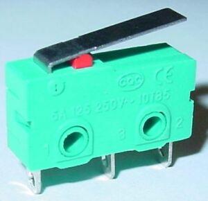 Microschalter-Mini-Mikroschalter-Tastschalter-EIN-EIN-gefedert-S20