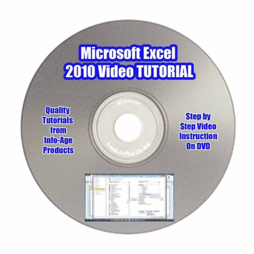 Microsoft Excel 2010/2007 VIDEO TUTORIAL Part 1 - Use Excel Like A Pro In 7 Days in Everything Else, Information Products, Other | eBay
