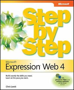 Microsoft Expression Web 4 Step by Step (Step By Step (Microsoft)), Chris Leeds, in Books, Nonfiction | eBay