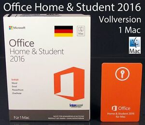 microsoft office home and student 2016 vollversion box 1. Black Bedroom Furniture Sets. Home Design Ideas