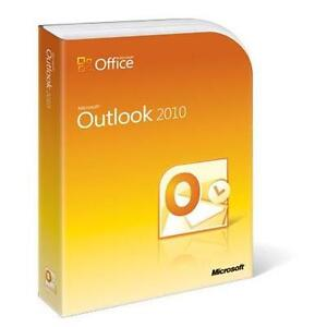 Microsoft Outlook 2010, Full Version, St...