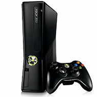 Microsoft Xbox 360 S 4 GB Matte Black Co...