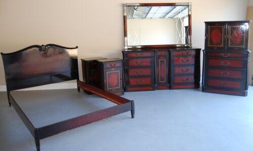 Antique Wooden Spindle Bed Frame In Antiques Furniture Beds Bedroom S