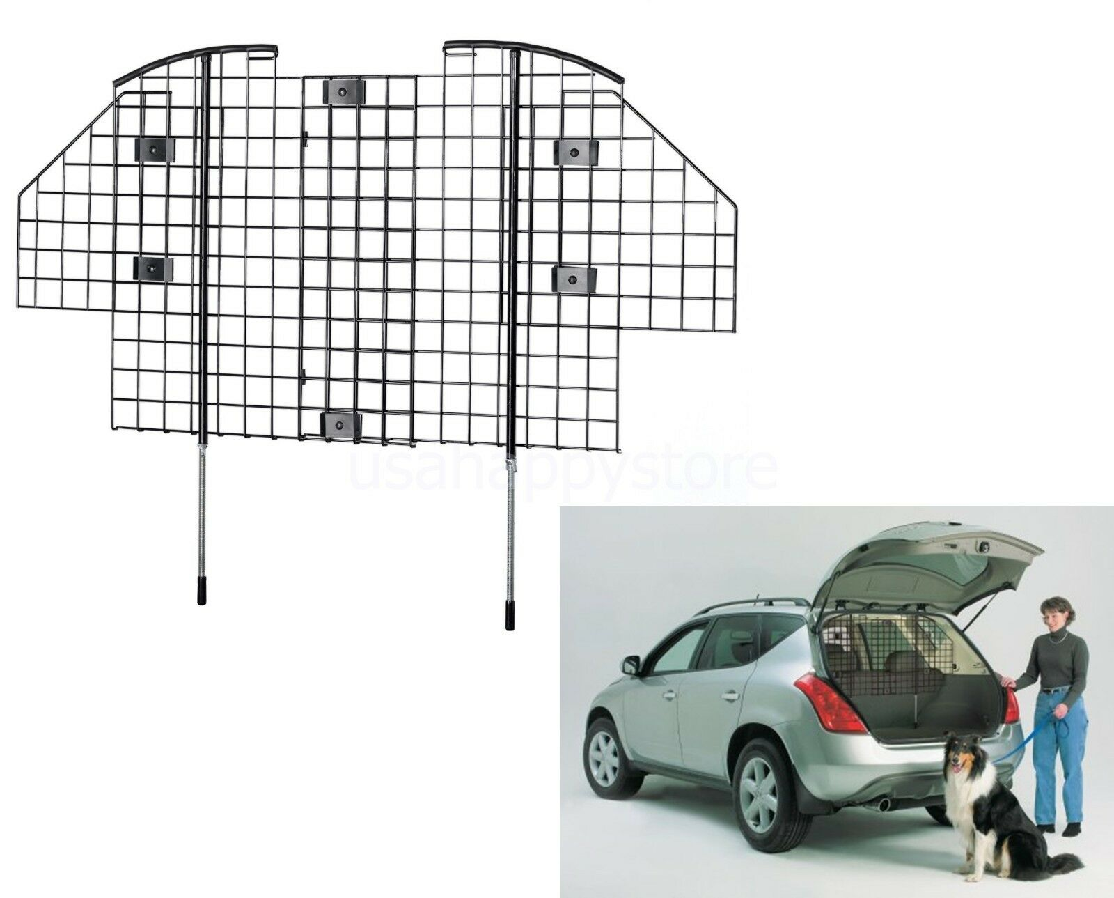 Midwest Pet Dog Car Barrier Guard Automotive Safety Protect SUV ...