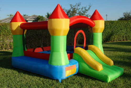 Mighty Bounce House Inflatable Bouncer Moonwalk Jumper Jump Bouncy Castle in Toys & Hobbies, Outdoor Toys & Structures, Inflatable Bouncers | eBay