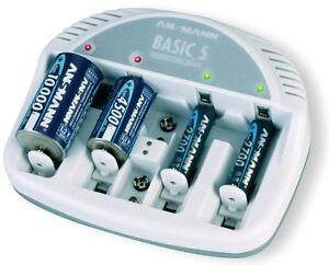 Mignon-Micro-Ladegeraet-Charger-fuer-AA-AAA-C-D-9Volt-Batterien-Ni-MH-Ni-CD