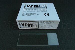 Mikroskop-gefrostet-Dias-Packung-mit-300-Stueck