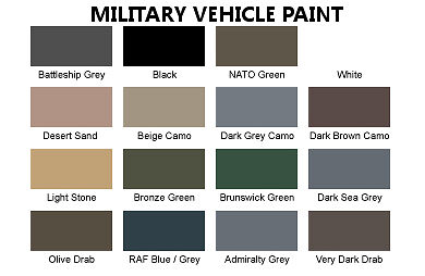 What Colour Paint Land Rover Defender Military Blue