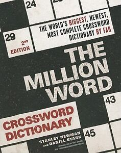 The Million Word Crossword Dictionary by...