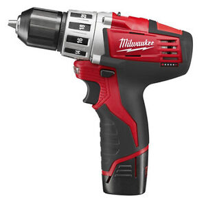 "Milwaukee 2410-22 12V Li-Ion 3/8""  Cordl..."