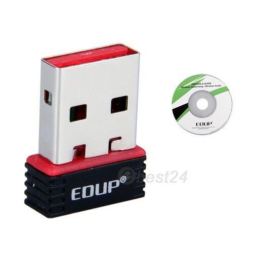 Mini 150M WiFi USB Wireless Network LAN Adapter Adaptor Card for Laptop Mac OS