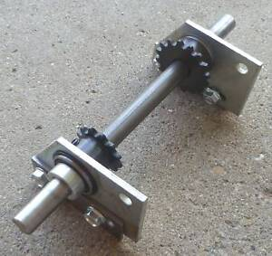 Go Kart Jackshaft Assembly http://www.ebay.com/itm/Mini-Bike-Jackshaft-Assembly-Mount-Kit-/321033954786