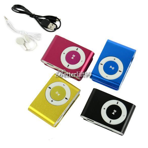Mini Metal MP3 BF9 Support Micro SD TF USB Media Player Music Random Deliver