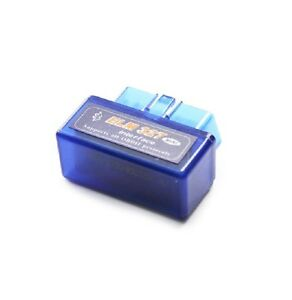mini obd 2 stecker elm 327 v2 1 diagnoseger t bluetooth