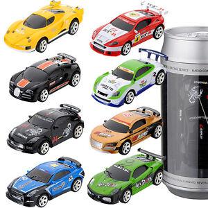 Mini-Racing-Car-RC-Ferngesteuertes-Auto-Spielzeug-Getraenkedose-Geschenk-Auswahl