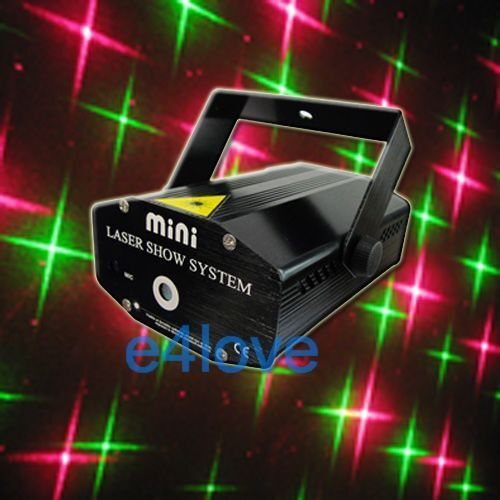 Mini Star 4in1 R&G Laser Light DJ Disco Bar Stage Lighting Xmas Party -4S in Musical Instruments & Gear, Stage Lighting & Effects, Stage Lighting: Single Units | eBay