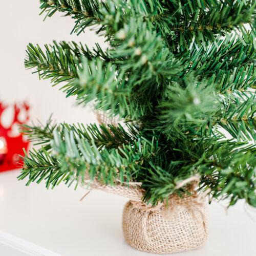 mini weihnachts baum 45cm in jutesack st nder weihnachts. Black Bedroom Furniture Sets. Home Design Ideas