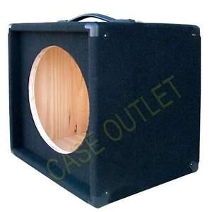1x12 bass guitar compact empty speaker cabinet black carpet finish minibg112 bc ebay. Black Bedroom Furniture Sets. Home Design Ideas