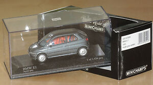 Minichamps -- BMW E1 -- Mystic Grey -- 1 of 1536 - Deutschland - Minichamps -- BMW E1 -- Mystic Grey -- 1 of 1536 - Deutschland