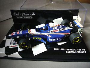 Minichamps - Williams Renault FW 19 - German Driver Formel 1 1:43 - Deutschland - Minichamps - Williams Renault FW 19 - German Driver Formel 1 1:43 - Deutschland