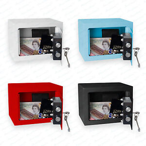 minisafe minitresor safe mini safe tresor wandsafe geldschrank geldkassette bz1. Black Bedroom Furniture Sets. Home Design Ideas