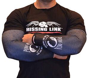 Missing link sleeve armpro pow mia sleeves tattoo biker for Pow mia tattoo