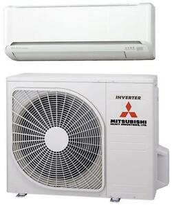 mitsubishi klimaanlage air conditioner set klimager t klima splitger t srk25zj s ebay. Black Bedroom Furniture Sets. Home Design Ideas
