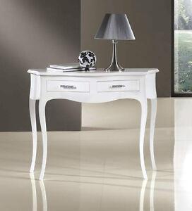 mobile consolle 2 cassetti tavolino da salotto soggiorno