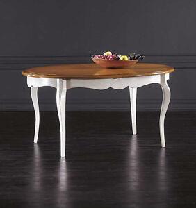 Mobile tavolo ovale moderno massello da cucina salotto - Tavolo ovale cucina ...