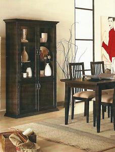Mobile vetrina cristalliera soggiorno rovere wenge 39 2 for Mobile soggiorno vetro