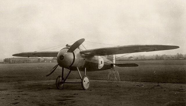 Model Airplane Plans  Bristol Monoplane Scout  U2022 1  8 Scale