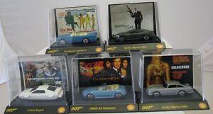 Model Car James Bond 007 Set of 5 Models Lotus, Aston Martin, BMW, Sunbeam 1/64 - Deutschland - Model Car James Bond 007 Set of 5 Models Lotus, Aston Martin, BMW, Sunbeam 1/64 - Deutschland