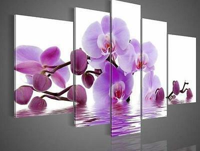 """Modern Abstract Oil Painting On Canvas Art - """"Purple Flower"""" (No Frame) in Art, Direct from the Artist, Paintings 