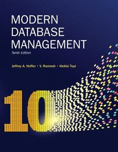 Modern Database Management by Jeffrey A....