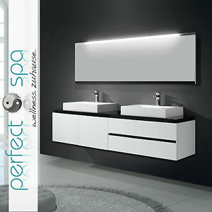 double badmoebel waschtisch badkeramik spiegel badezimmer waschbecken. Black Bedroom Furniture Sets. Home Design Ideas