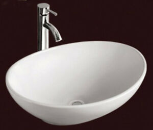 Sink Bowls On Top Of Vanity : ... Mini Oval Counter Top Vanity Ceramic Bowl Basin Sink 400mm eBay