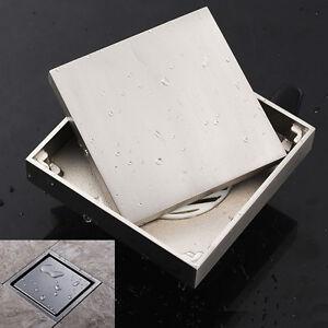 ... Edelstahl Duschrinne Bodenablauf Ablaufrinne Dusche befliesbar eBay