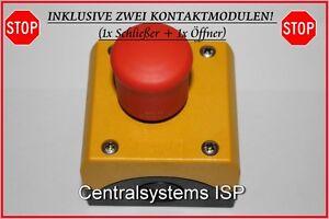 Moeller-Eaton-M22-PV-KC11-IY-Not-Aus-Schalter-Taster-216525-NEU-OVP