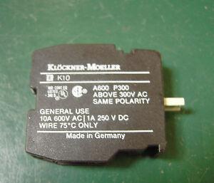 Moeller-RMQ-22-Kontaktelement-EK10-Schliesser-fuer-Einbau