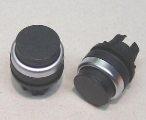 Moeller-RMQ22-Vorsatz-Drucktaste-hoch-schwarz-NEU
