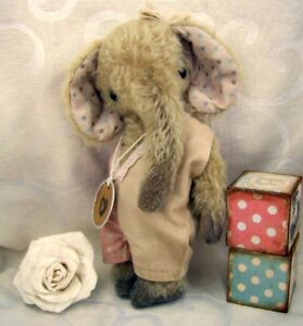 Mohair Bear Elephant Pattern 9.5 inch in Dolls & Bears, Bear Making Supplies | eBay