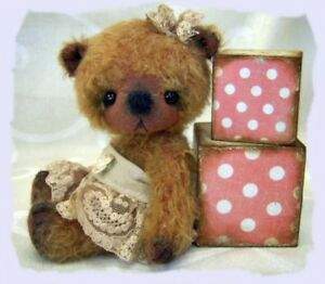 Mohair Bear Pattern 5.5 inch in Dolls & Bears, Bear Making Supplies | eBay