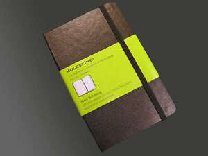 "Moleskine Small Pocket Plain Hard Cover Notebook Journal 3陆"" X 5陆"" in Books, Accessories, Blank Diaries & Journals 