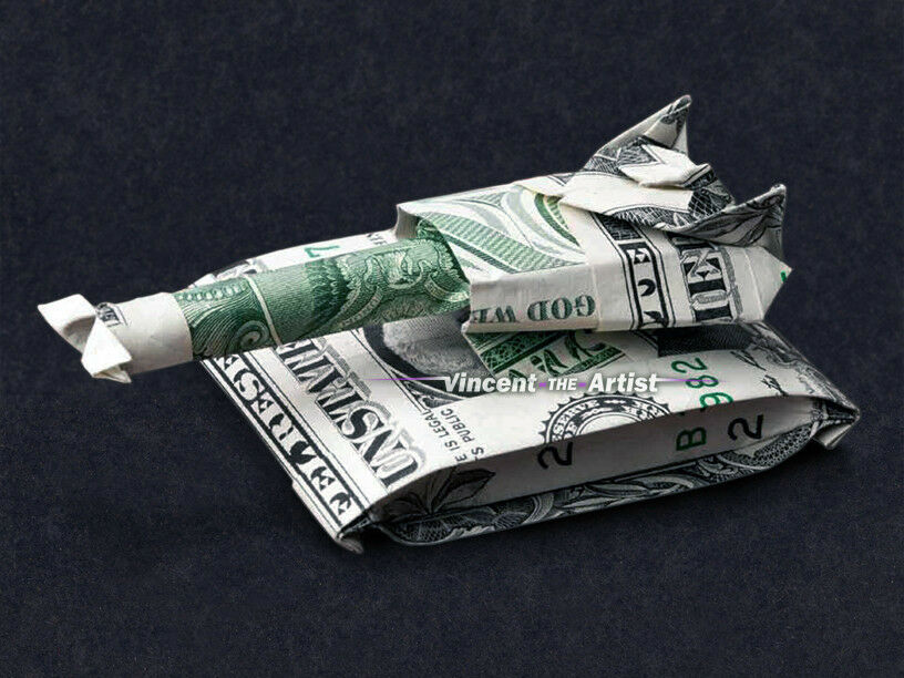 Money Sailboat - Make-Origami.com | 612x816