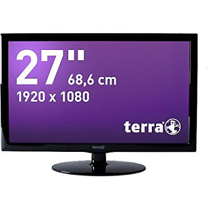 Monitor-Bildschirm-Terra-2750W-68-6cm-27-LED-HDMI-2ms-16-9-Computer-PC