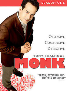 Monk - Season 1 (DVD, 2004, 4-Disc Set)